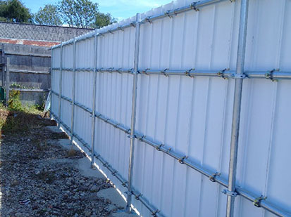 sustainable site hoardings